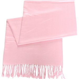 Baby Pink Solid Color Design Pashmina Shawl Scarf Wrap Stole Shawls Pashminas Scarves NEW a1004-169
