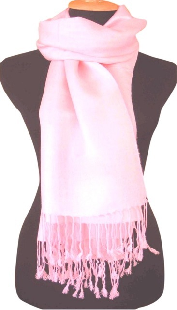 Baby Pink Solid Color Design Pashmina Shawl Scarf Wrap Stole Shawls Pashminas Scarves NEW a1004-350
