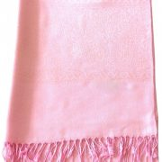 Baby Pink Paisley Pattern Design New High Quality Twill Weaved Solid Color Shawl Scarf a2008-429