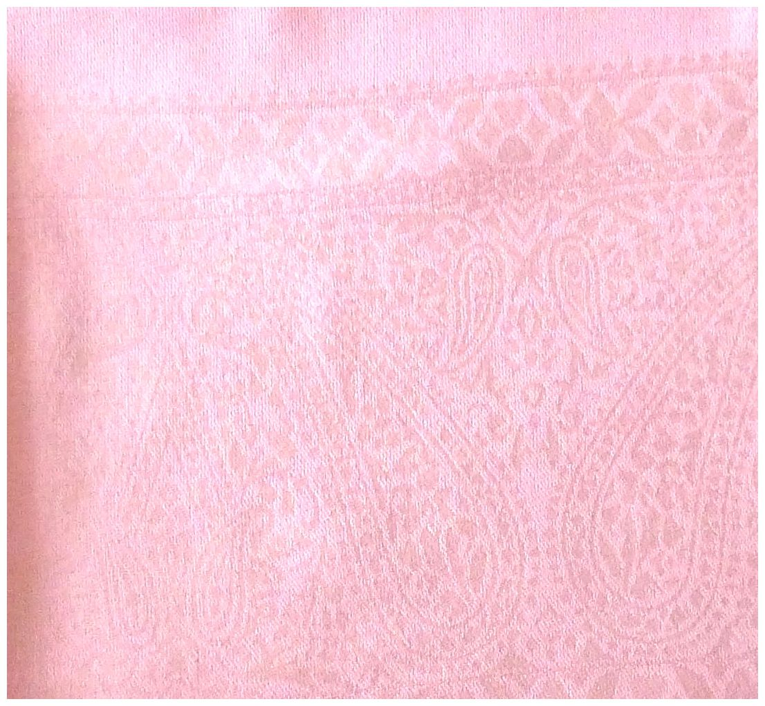 Baby Pink Paisley Pattern Design New High Quality Twill Weaved Solid Color Shawl Scarf a2008-432