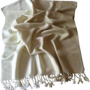 Beige Two Tone Design Pashmina Shawl Scarf Wrap Pashminas Shawls NEW a3012-269