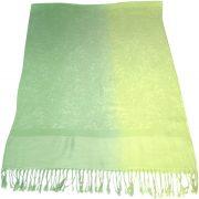 Green Two Tone Design Pashmina Shawl Scarf Wrap Pashminas Shawls NEW a3040-503
