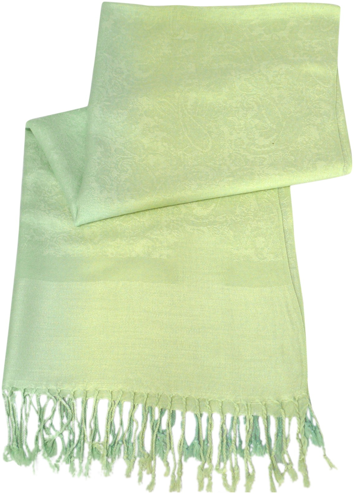 Green Two Tone Design Pashmina Shawl Scarf Wrap Pashminas Shawls NEW a3040-504