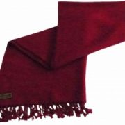 Maroon High Grade 100% Cashmere 2 Ply Shawl Hand Made from Nepal Scarf Wrap NEW a5040-928