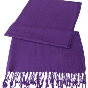 Purple Solid Color Design Pashmina Shawl Scarf Wrap Stole Shawls Pashminas Scarves NEW a1102-695