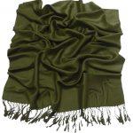 Avocado Green Solid Color Design Pashmina Shawl Scarf Wrap Pashminas Shawls Scarves Wraps NEW a1001-916