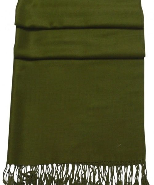 Avocado Green Solid Color Design Pashmina Shawl Scarf Wrap Pashminas Shawls Scarves Wraps NEW a1001-929