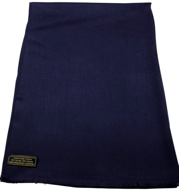 Navy Blue Nepal Mix Fringe 2 rbf1088