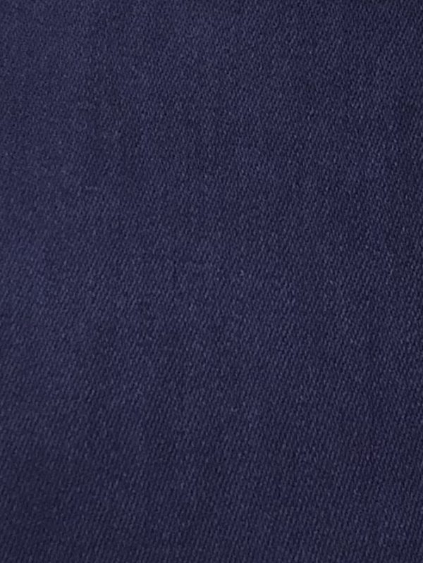 Navy Blue Nepal Mix Fringe 5 SWATCH f1088